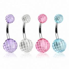 Piercing nombril Disco Ball