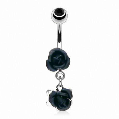 Piercing nombril Double Roses