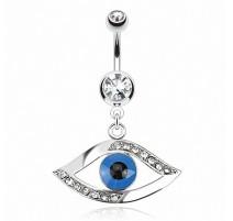 Piercing nombril oeil égyptien