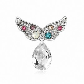 Piercing nombril inversé angel wings