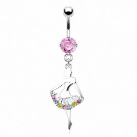 Piercing nombril ballerine