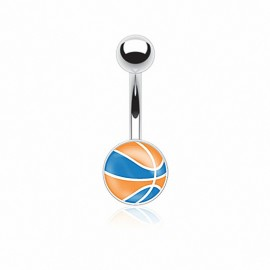 Piercing nombril ballon basket