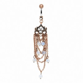 Piercing nombril vintage chandelier