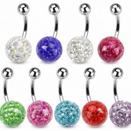 Piercing nombril Crystal Gloss