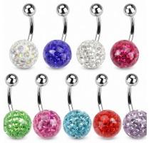 Piercing nombril Crystal Gloss