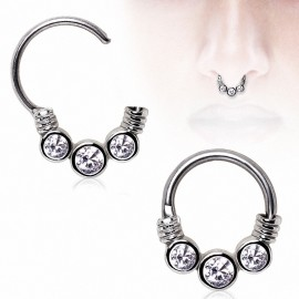 Piercing septum trio