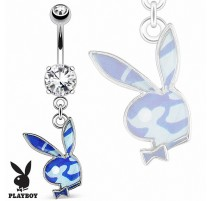 Piercing nombril Playboy camouflage