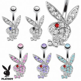 Piercing nombril Playboy lapin