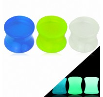 Piercing Plug Oreille Acrylique Glow in The Dark