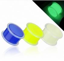 Piercing Plug Acrylique Phosphorescent dans le noir